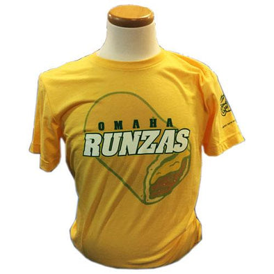Omaha Runzas Men's Yellow Heather Runza Tee