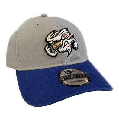 Omaha Storm Chasers New Era 9Twenty Grey/Royal Clutch Hit