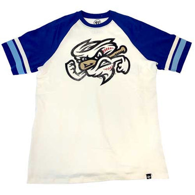 Omaha Storm Chasers Men's 47 Royal/Cream Heritage Opener Tee