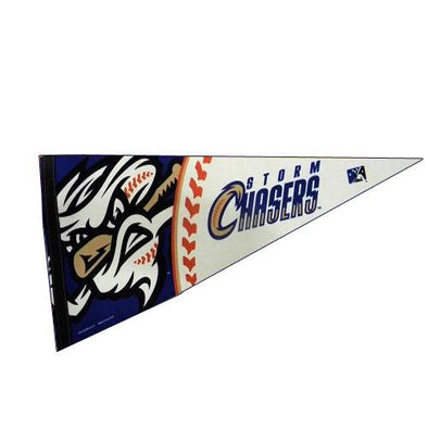 Omaha Storm Chasers Vortex Pennant