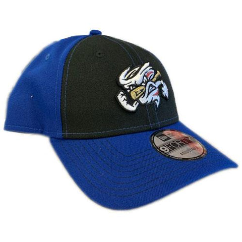 Omaha Storm Chasers New Era 9Forty Royal/Black Clutch Hit