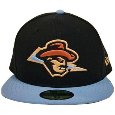 Omaha Cazadores de Tormentas COPA New Era 59Fifty Black/Lt Blue Cap