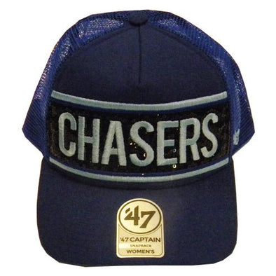 Omaha Storm Chasers Women's 47 Glimmer Text Captain Snapback