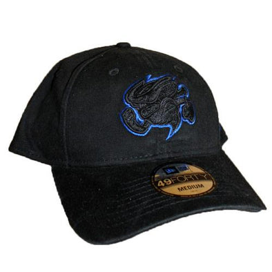Omaha Storm Chasers New Era 49Forty Core Fit Black/Royal