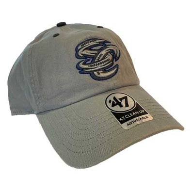 Omaha Storm Chasers 47 Grey Ice Clean Up Hat