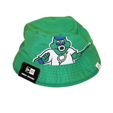 Omaha Storm Chasers Infant/Toddler New Era Reversible Bucket Hat