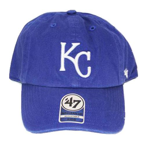 Omaha Storm Chasers Kansas City Royals 47 Youth Clean-Up Cap