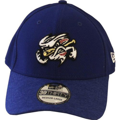 Omaha Storm Chasers New Era 39Thirty Vigor Shade Vortex Hat