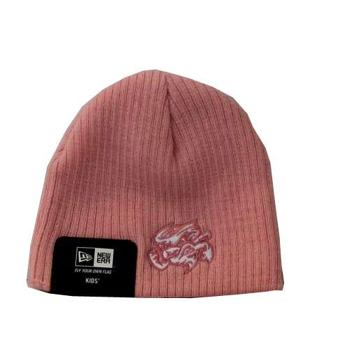 Omaha Storm Chasers New Era My 1st Baby Beanie-Pink
