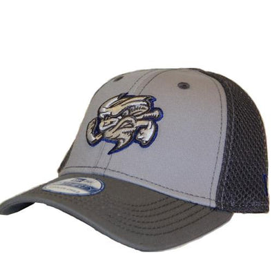 Omaha Storm Chasers New Era 39Thirty Greyed Out Neo Hat