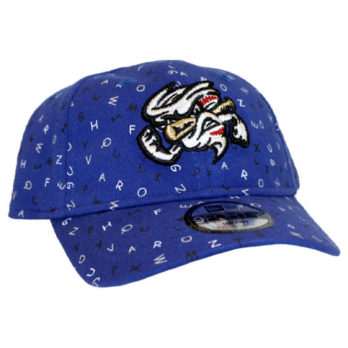 Omaha Storm Chasers Infant/Toddler New Era 9Forty Royal Vortex Alphabet Hat