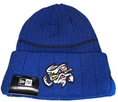 Omaha Storm Chasers New Era Royal Vortex Winter Hat