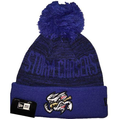 Omaha Storm Chasers New Era Blizzard Winter Hat