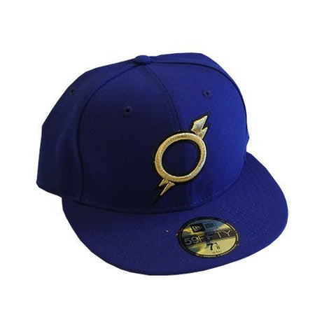 Omaha Storm Chasers New Era 59Fifty Royal O-Bolt Road Cap