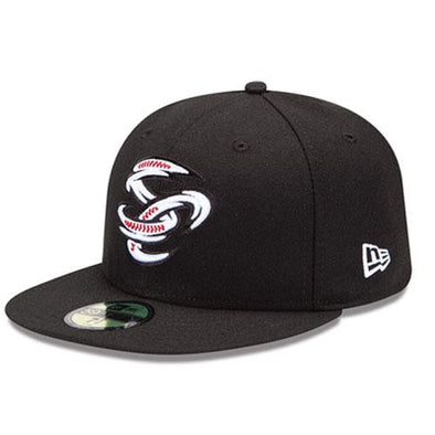 Omaha Storm Chasers New Era 59Fifty Black SC Alt Cap
