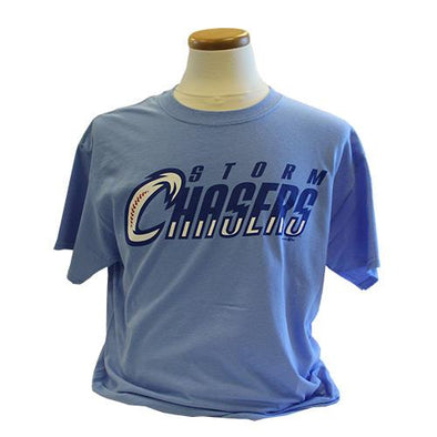 Omaha Storm Chasers Youth Powder Blue Alt Jersey Replica Tee