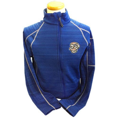 Omaha Storm Chasers Men's Holl Royal Full Zip Deviate Jacket