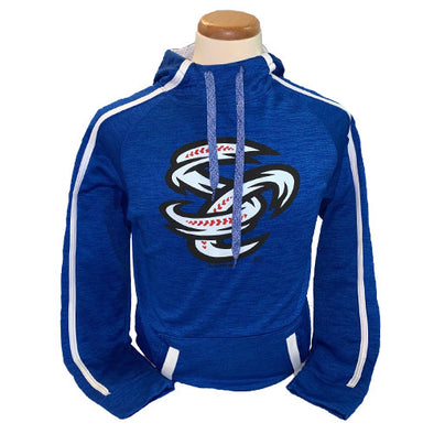 Omaha Storm Chasers Youth Augusta Royal Tonal Heather Hoodie