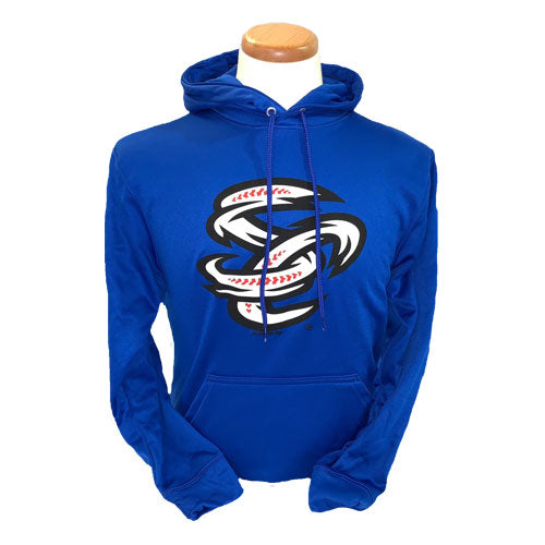 Omaha Storm Chasers Youth Augusta Royal Fleece Wick Hoodie