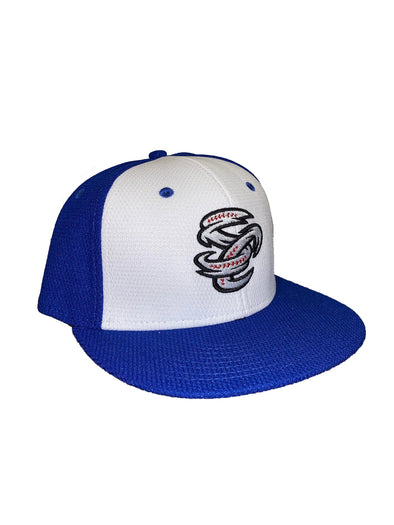 Omaha Storm Chasers OC Royal White Mesh SC Proflex Cap