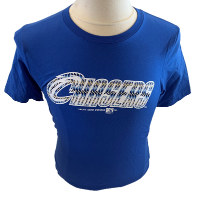Omaha Storm Chasers Men's Royal Crosscut Tee