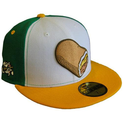 Omaha Runzas New Era 59Fifty Green/White/Gold Cap