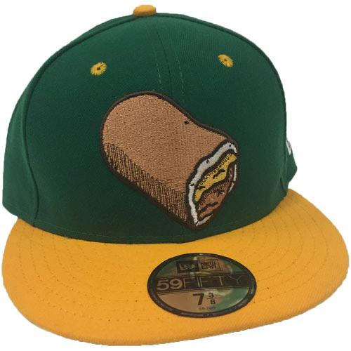 Omaha Runzas New Era 59Fifty Green/Gold Cap