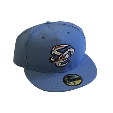 Omaha Storm Chasers New Era 59Fifty Powder Blue SC Alt Cap