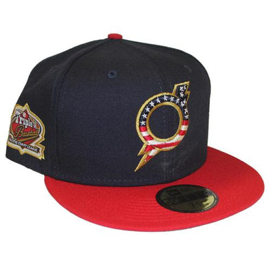 Omaha Storm Chasers New Era 59Fifty Stars and Stripes O Bolt Hat