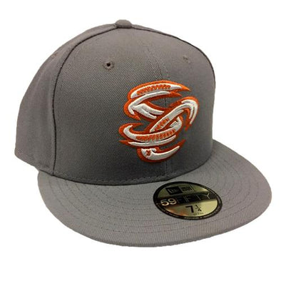 Omaha Storm Chasers New Era 59Fifty Grey Star Wars Cap