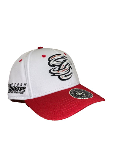Omaha Storm Chasers OC White Red SC Proflex Cap