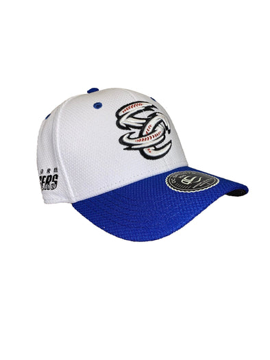 Omaha Storm Chasers OC White Royal Mesh SC Proflex Cap