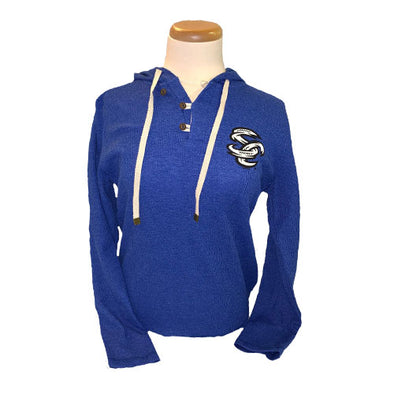 Omaha Storm Chasers Women's Augusta Royal Coast Hoodie