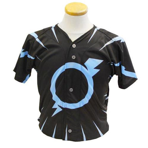 Omaha Storm Chasers Replica Youth Black O-Bolt Alternate Jersey
