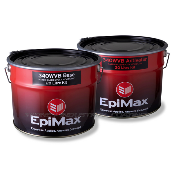Epimax 340WVB Epoxy For Sale In Sydney DIY Epoxy Garage Epoxy Paint moisture barrier