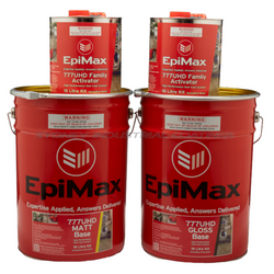 EpiMax 777UHD Clear High Performance Seal Coat System in Gloss or Matt