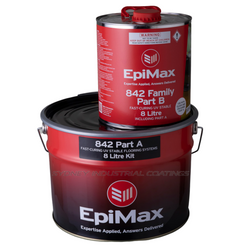 EpiMax 842 Fast Curing UV Stable Flooring Systems in Clear or Coloured - 40L