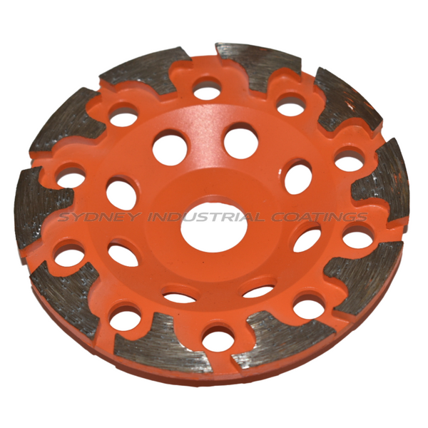 125mm Diamond Grinding Cup Wheel - Grit Size 30/40 | $70.00 inc GST