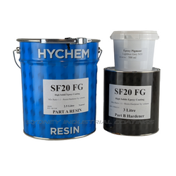 Hychem SF20FG Heavy duty, anti-slip epoxy coating