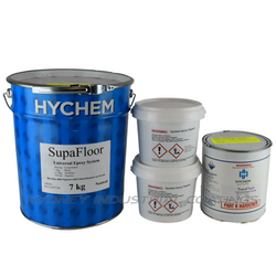 Hychem Supafloor - Multi-purpose epoxy flooring system 100% solids
