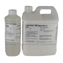 SIC SuperClear WB - Waterbased Polyurethane Top Coat and Concrete Sealer