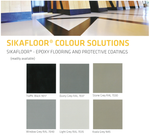 Sika Epoxy Colour card , Sika Colour Chart - Sika Epoxy Colours Sika Australia