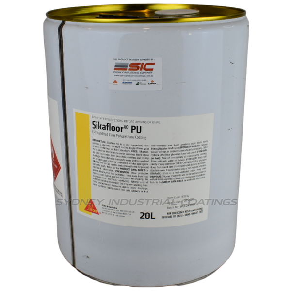 Sikafloor-PU | UV Stabilised Clear Polyurethane Coating