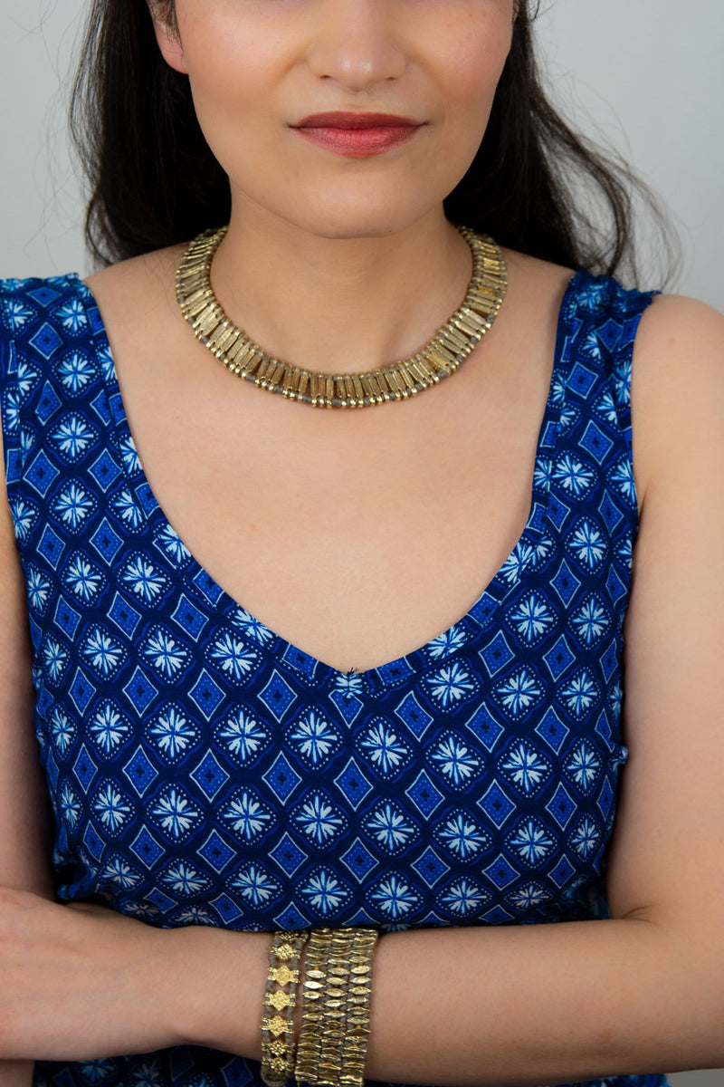 Naaz collar necklace