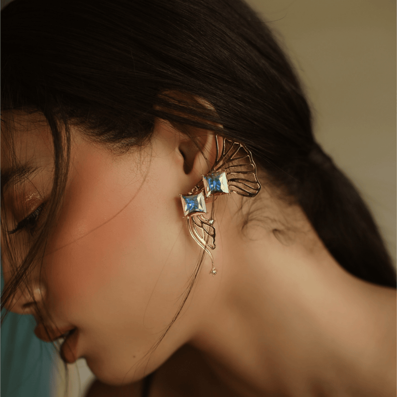 Statement Earcuffs- The Jewel Jar