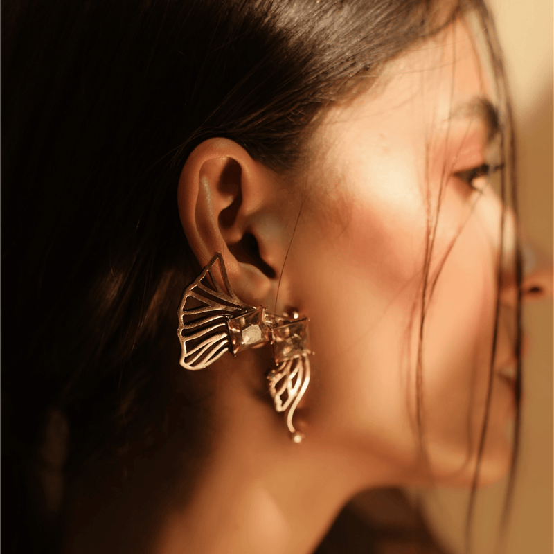 Statement Ear cuff- The Jewel Jar
