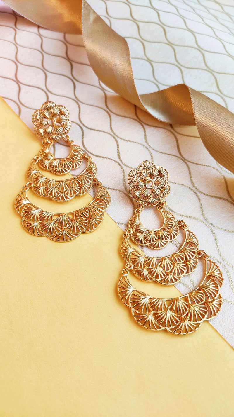 Tiered Bloom Earrings