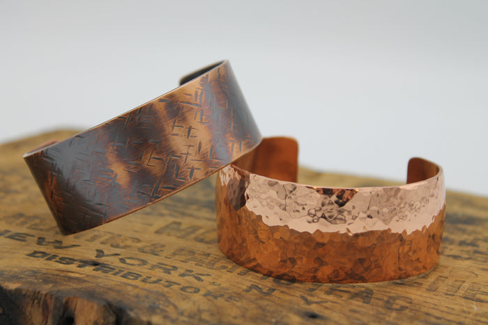 "1"" Gladiator Copper Cuff - (Shiny)"
