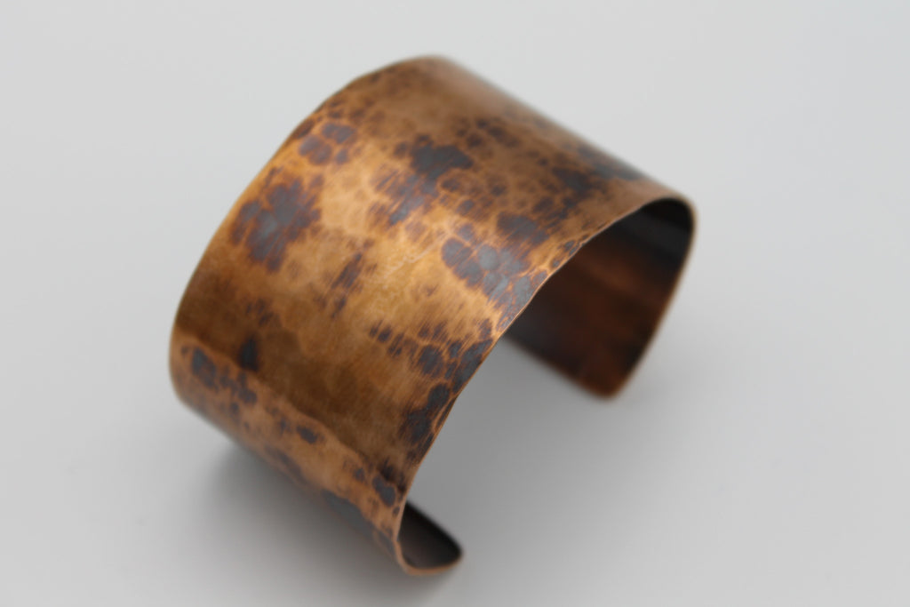 "2"" Gladiator Copper Cuff - (Oxidized)"