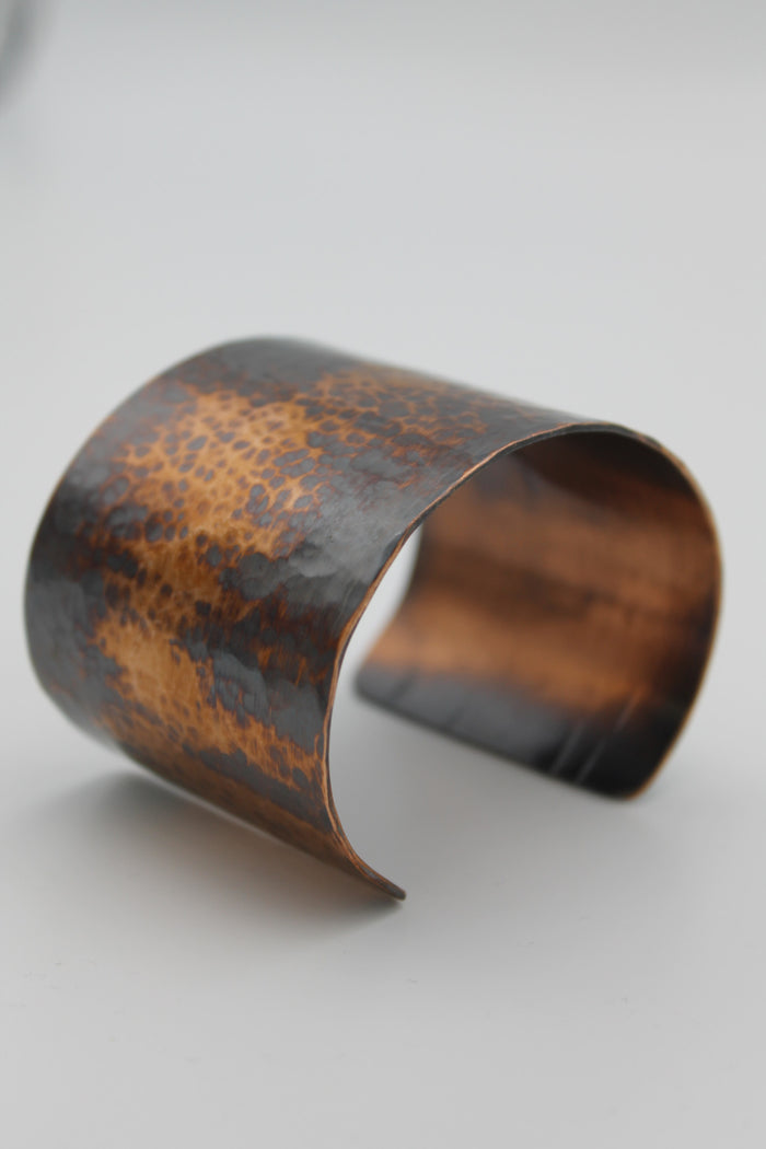 "2"" Egyptian Queen Copper Cuff - (Oxidized)"
